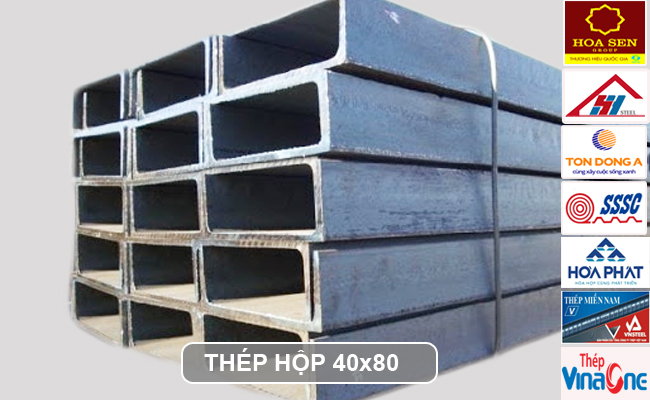 Thép hộp 40x80