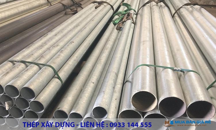 Sản xuất thép ống mạ kẽm