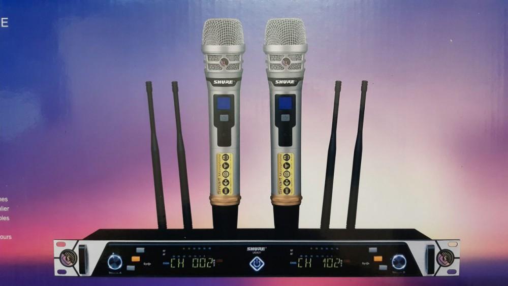 Mic không dây shure ugx21 của BT Audio