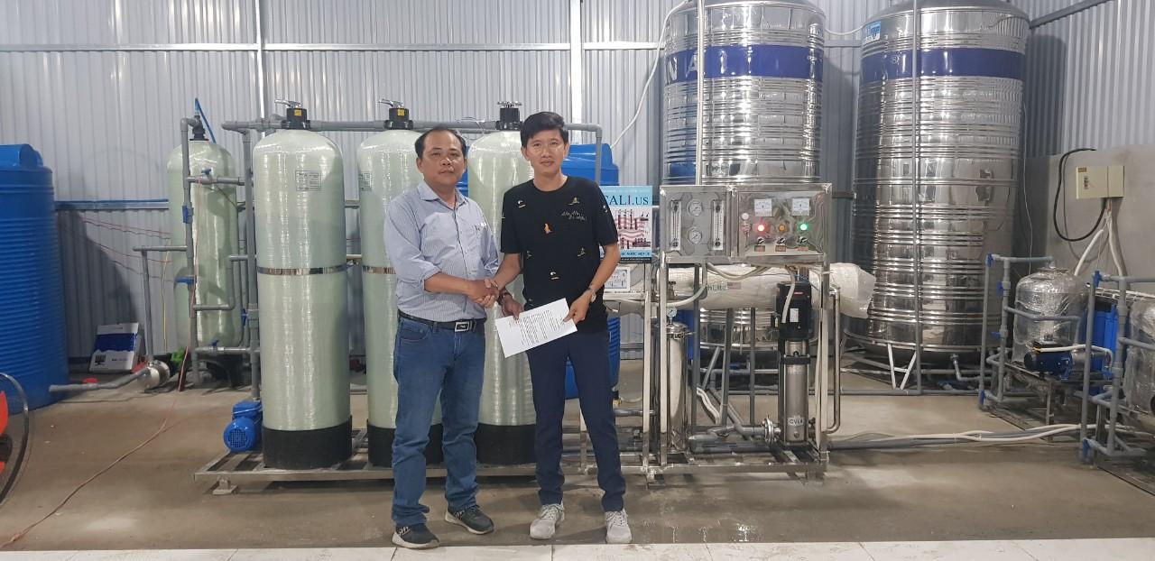 Hệ thống lọc nước đóng bình công nghệ 4.0